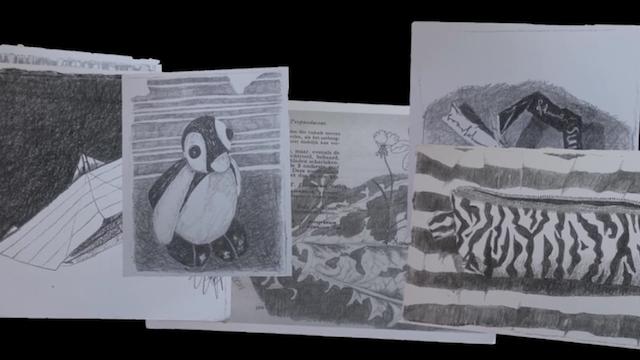 Kleine tekeningen - Lea Adriaans, still van animatie