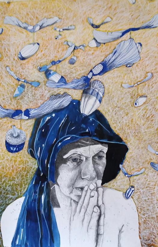 Maria en haar blauwe eikels 1 - Lea Adriaans